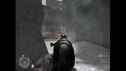 Call of Duty 2 - Мисия 3 - Repairing the Wire