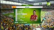 World Cup 2014 - Австралия- Испания 0-3