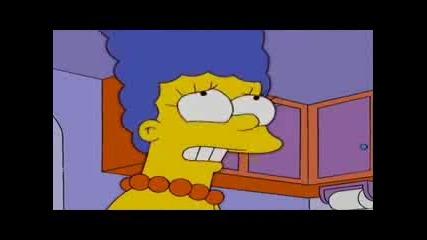 Семейство Симпсън - Мардж В Google