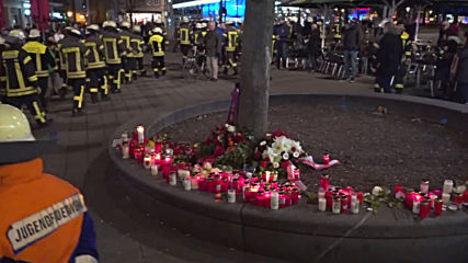 Germany: Firefighters mourn murdered colleague as six teenagers arrested