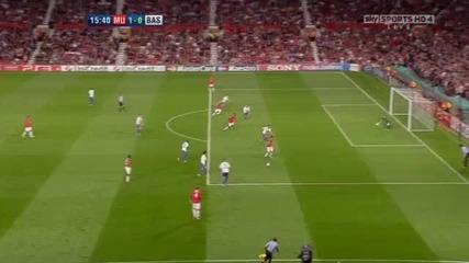 Манчестър Юнайтед 3 - 3 Базел Уелбек Гол *hq*