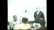 Роберт Форисон изнася лекция за германските газови камери част 3