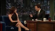 * Victoria Beckham бременна в шоуто на Jimmy Fallon 15.02.2011