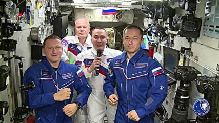 ISS: Cosmonauts honour 60th anniversary of Yuri Gagarin's historic flight