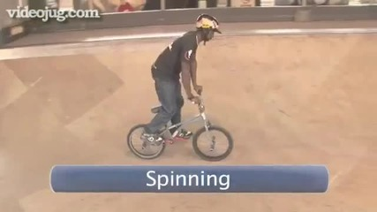 How To Do A Bar Spin On A Bmx