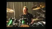 Metallica - James Playing Drums 2009