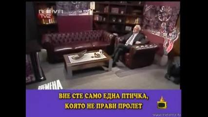 Професор Вучков прави масаж на ушите си!!Голям майтап:))Господари на ефира 15.05.2008 HQ