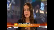 Miley Cyrus on the Today Show 08282009 [hq] Interview