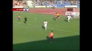 СЛИВЕН - ЦСКА 2:0 (на Полувремето)
