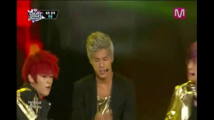 _intro (intro Rocking by Teen Top on Mcountdown 2013.8.29)