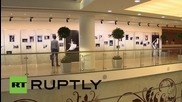 Russia: Italian ballerina Carla Fracci attends exhibition opening in Moscow