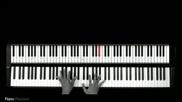 Lady Gaga- Telephone ( Piano Cover) [tutorial lesson guitar]