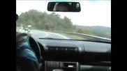 Шофьор на Ауди Овладява Колата Си При 150 Kmh