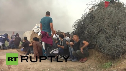 State of Palestine: Israeli forces injure 25 in Gaza during violent clashes