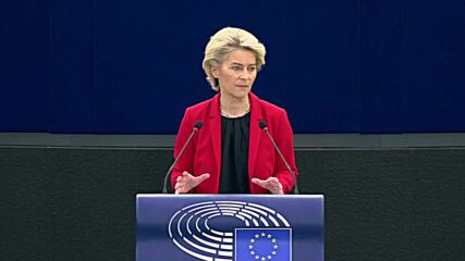 France: Von der Leyen talks potential EU Commission measures to counter controversial Poland court ruling