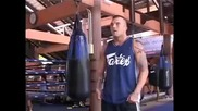 James The Sandman Irvin training at Fairtex Bangplee