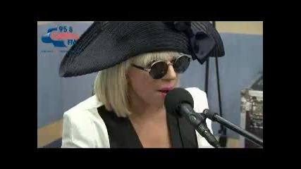 Lady Gaga - Paparazzi Live Acoustic