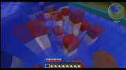 Minecraft Wipeout map 2# + Fail ! - Himy.