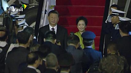 Brazil: Xi Jinping arrives in Brasilia ahead of BRICS summit
