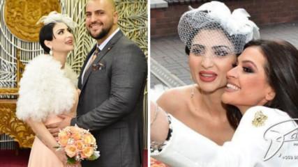 Софи Маринова се омъжи, Преслава - кума! Вижте снимки от сватбата!