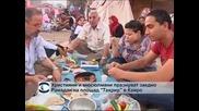 """Християни и мюсюлмани празнуват заедно """"Рамадана"""" на площад """"Тахрир"""""""
