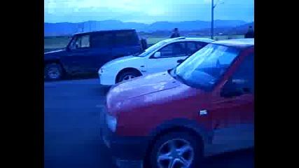 VW Golf 3 vs Mazda