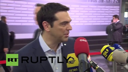 "Latvia: Tsipras ""optimistic"" Greek economy will return to growth ""soon"""