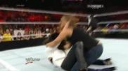 Wwe Raw 28.07.2014: Стефани Макмеън с мач на Summerslam 2014