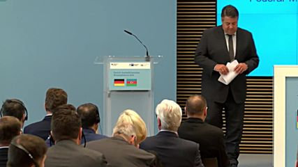 Germany: Gabriel expresses concern over Nagorno-Karabakh during German-Azerbaijani forum