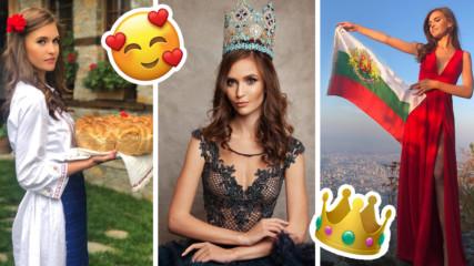 19-годишна чаровна българка - в топ 10 на Мис Свят! Тя е любимка на мъжете