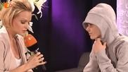 Н О В О интервю на Джъстин Бийбър 19.03.2011