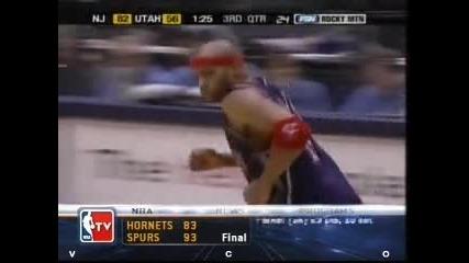 Vince Carter Windmill vs Utah