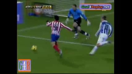 14.01 Atletico Madrid - Recreativo Huelva 5:1 Кун Агуеро втори гол !