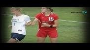 Грозната страна в женския футбол - битки, удари и нарушения