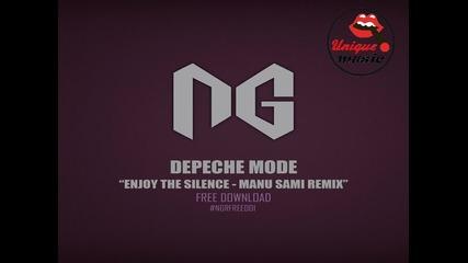 Bg production! Depeche Mode - Enjoy The Silence [ Manu Sami Remix ]