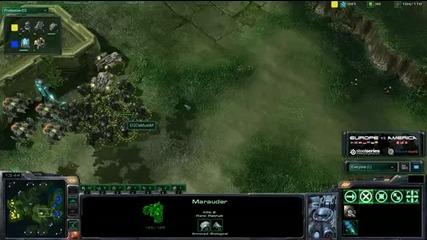 Tyler (nony) vs Demuslim - Game 2 - Pvt - America vs Europe