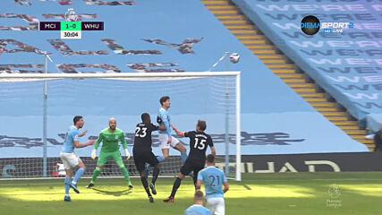 Манчестър Сити - Уест Хям Юнайтед 2:1 /репортаж/