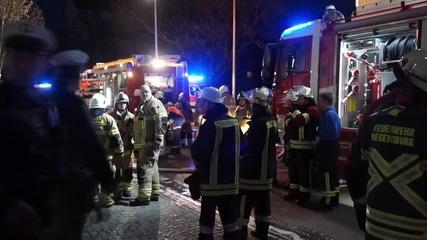 Девет мигранти са ранени при пожар в приют в Германия