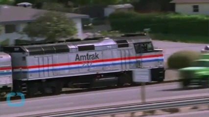 Amtrak Trains Roar Into Town