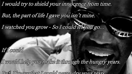 Ray Charles - If I Could bg_sub