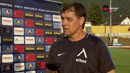 Хубчев остана доволен въпреки загубата от Зенит