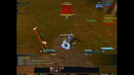 World Of Warcraft Rogue 18 Vs Mage 23