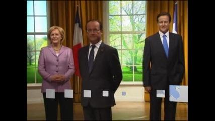 Франсоа Оланд се сдоби с восъчна фигура в Музея на Мадам Тюсо в Лондон