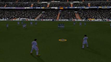 Cristiano Ronaldo Избухва с Free kick 38yrd