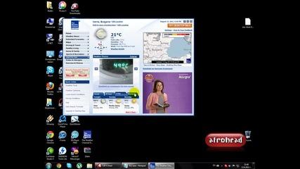 Как да видим времето с The Weather Desktop Channel