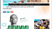 Sprite Adds Rap Lyrics to Soda Cans, Honors 4 Lucky Rappers