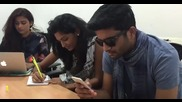 Как трима индийски студенти се подготвят за изпит?