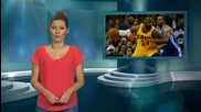 LeBron James Flashes His Junk on Live TV