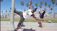 Този африкански бодибилдер е неподвластен на гравитацията
