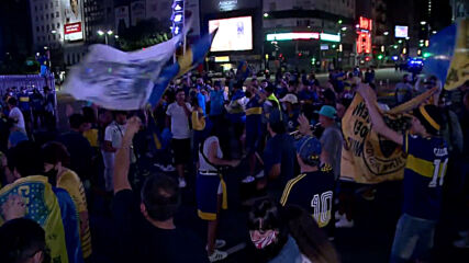 Argentina: Fans rock Buenos Aires after Boca Juniors win inaugural Maradona Cup